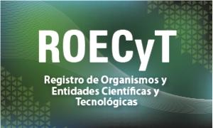 ROECyT - Registro de Organismos y Entidades Científicas y Tecnológicas