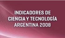 Indicadores de ciencia y tecnología 2008