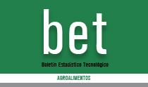 Boletín Estadístico Tecnológico (bet): Agroalimentos
