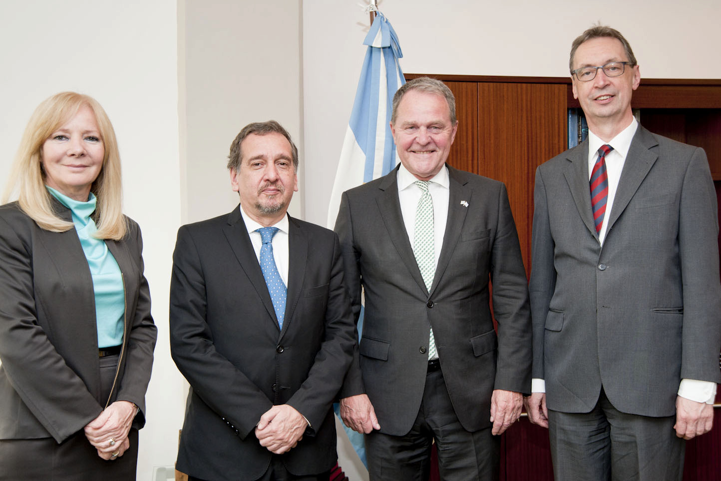 Barañao received the minister of Production, Science and Technology of the province of Buenos Aires