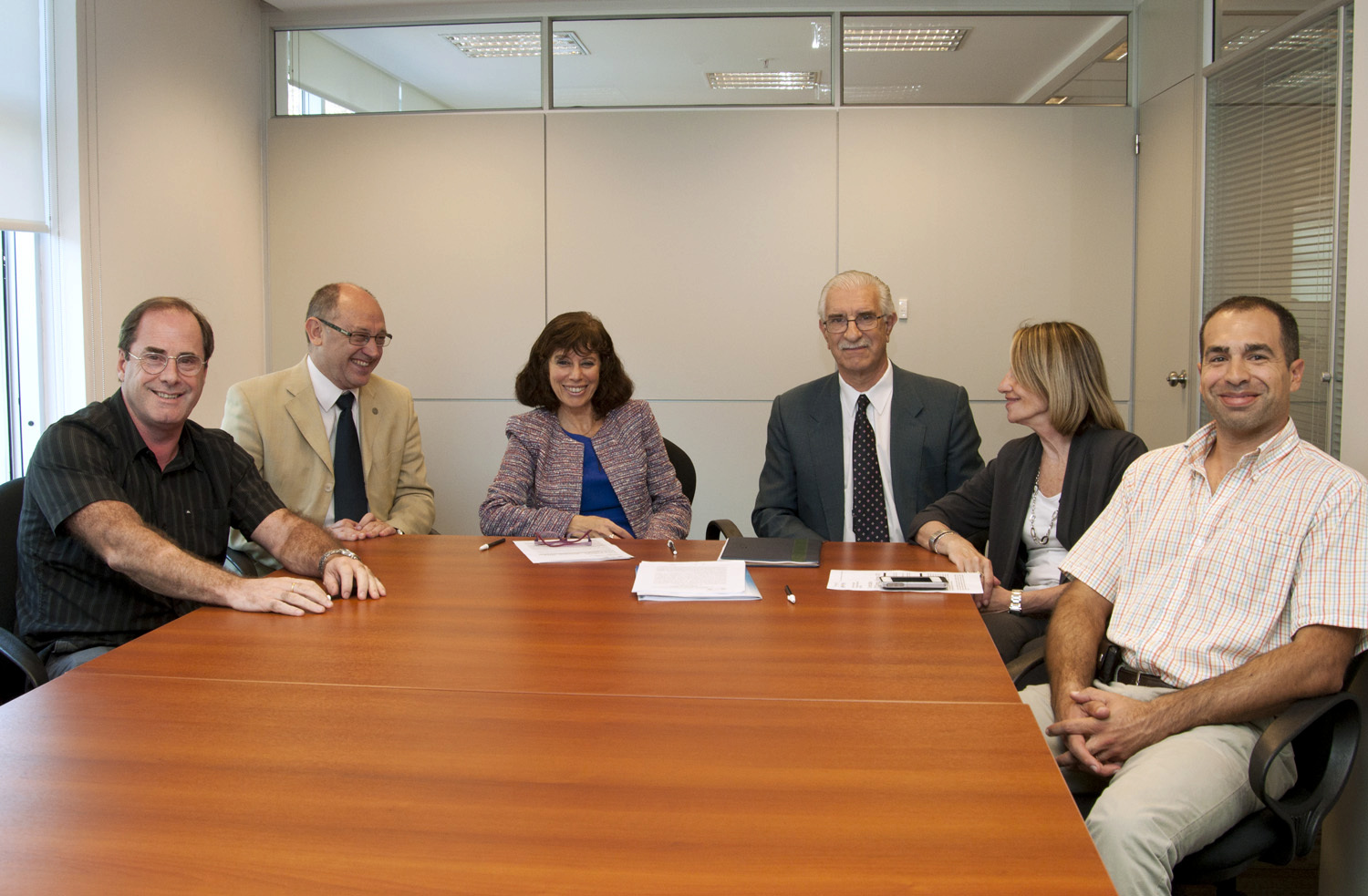 The Minister of Science received New Zealand authorities