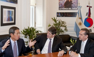 Barañao signed a memorandum of understanding with Spain and Portugal