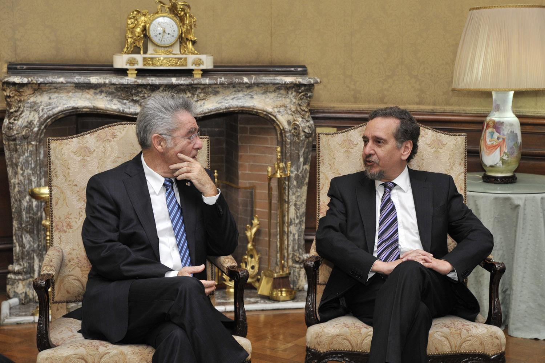 Barañao received a Georgia delegation