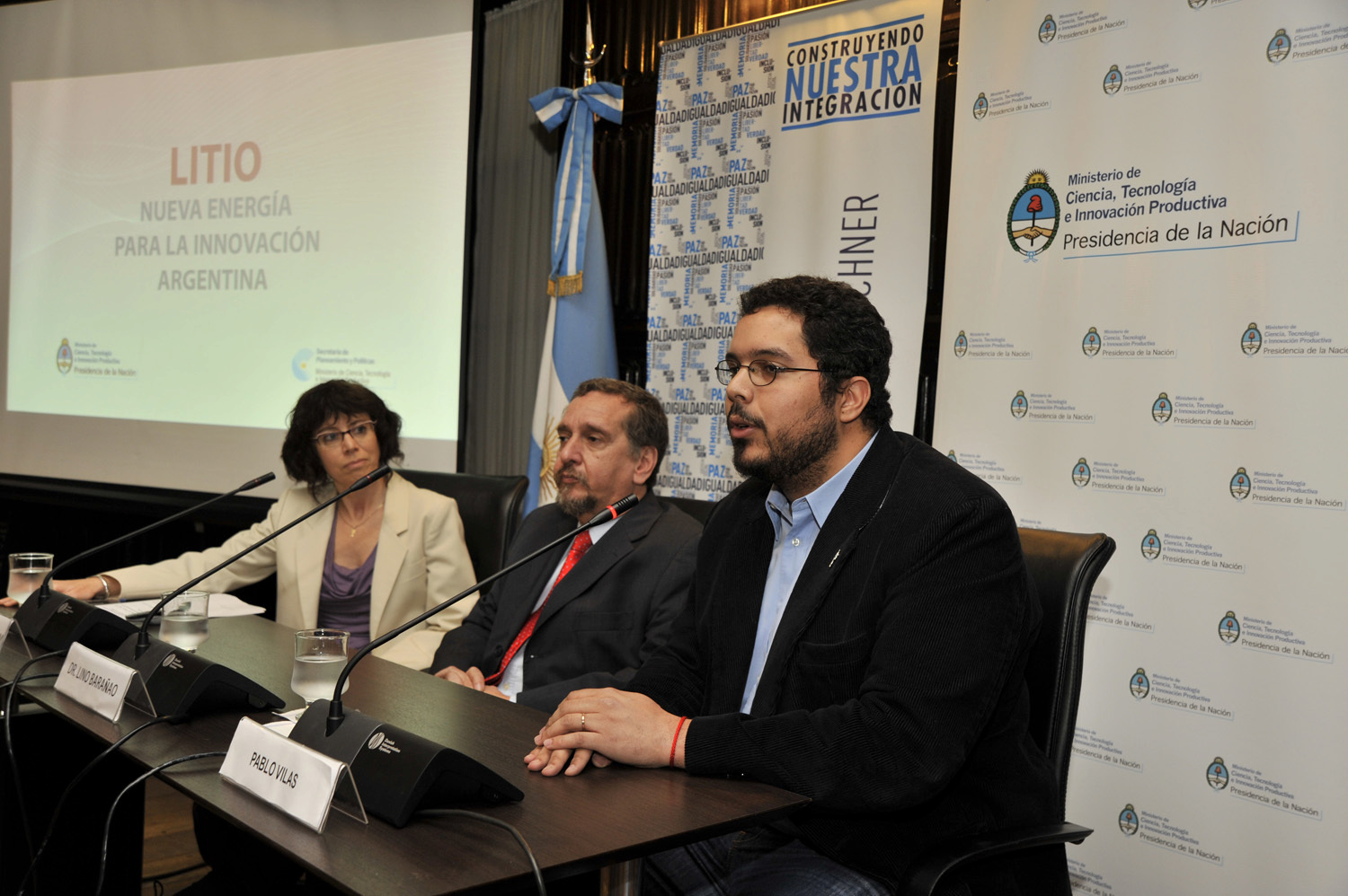 The Argentinean pavilion is inaugurated at BIO 2014