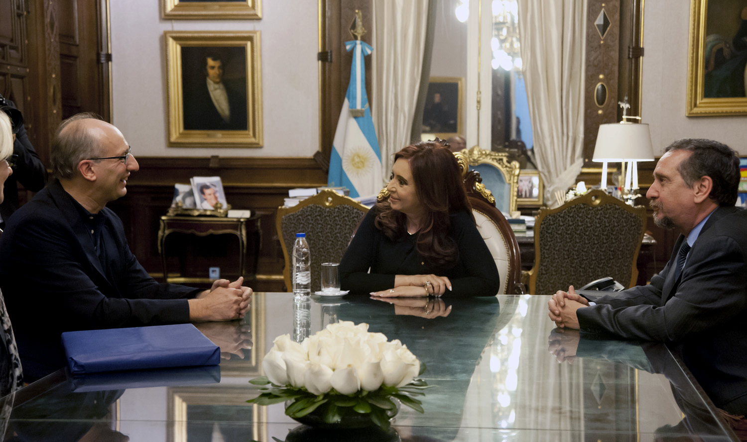 The President inaugurated a new infrastructure for two scientific research institutes in Santa Fe