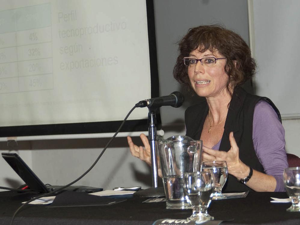 The researcher Bibiana Vila [Photo: Silvina Enrietti]